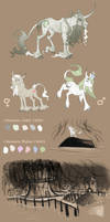 Species Sheet: Bog Unicorns by Vindhov