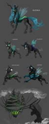 Species Sheet: Changelings by Vindhov