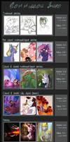 Commission Info: OPEN (customs only) by Vindhov