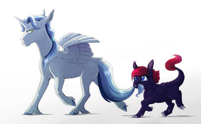 Royal Cousins by Vindhov