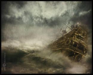Sea storm by Vittorio-Pellazza