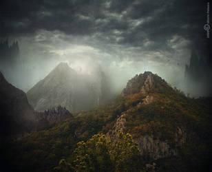 Goblin mountain by Vittorio-Pellazza