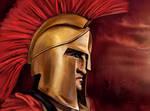 Spartan Warrior by amircea
