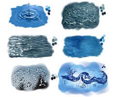 water studies by amircea