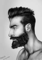 portrait by amircea