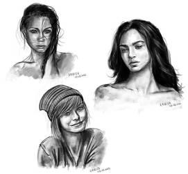 Portraits by amircea