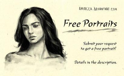 Free portraits by amircea