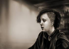 Portrait 1 by amircea