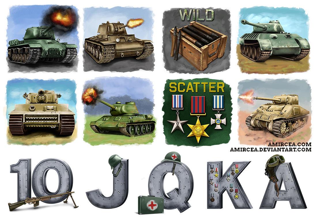 WW2 Tanks by amircea