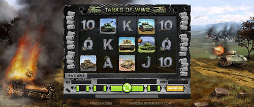 Tanks of WW2 Game by amircea