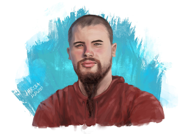 Male Portrait by amircea