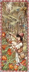 Wayfinder #8 - The Ruby Prince Gardens by mli13