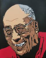 Bloodthirsty Dalai Lama by sykonurse