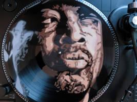 Chuck D on Vinyl by sykonurse