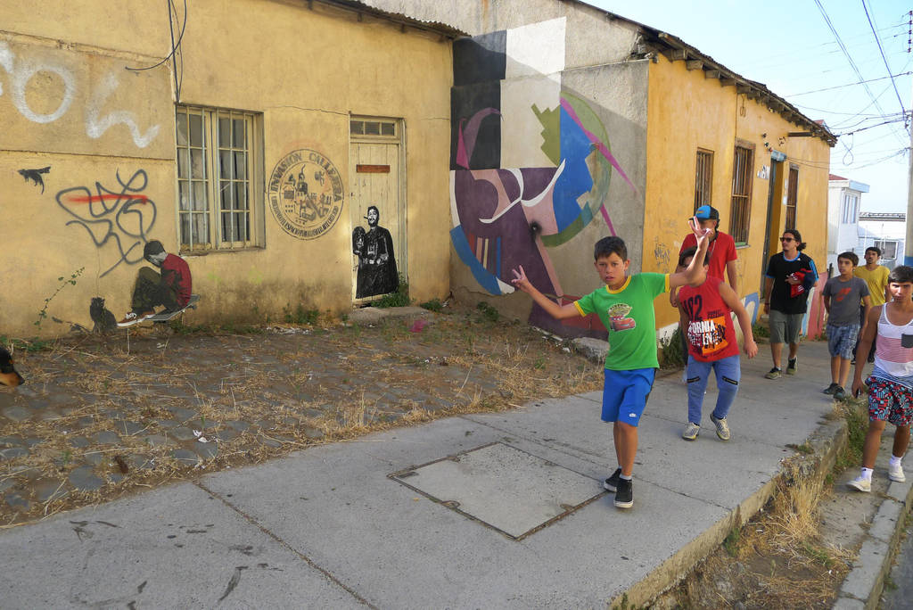 Darth Guevara in Valparaiso/Chile by sykonurse