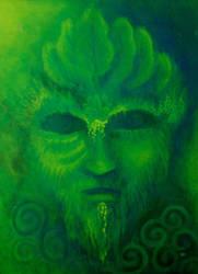 Green Man by obilabilon