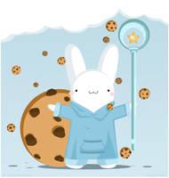 Rain Cookie by pronouncedyou