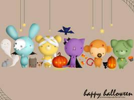 Halloween Wallpaper by pronouncedyou