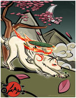 Okami by pronouncedyou