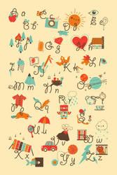 alliteration alphabet by pronouncedyou