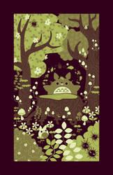 Totoro Grove by pronouncedyou