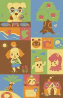 Animal Crossing New Leaf by pronouncedyou