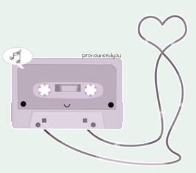vintage tunes by pronouncedyou