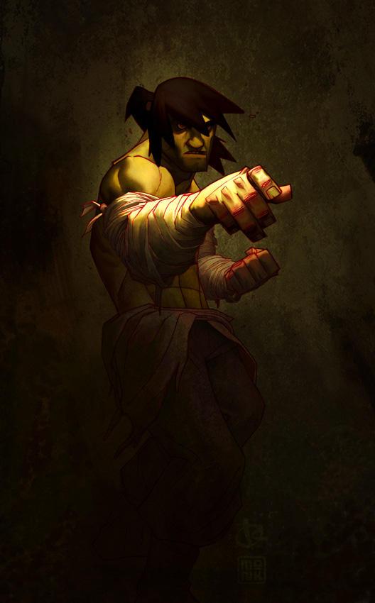 Kweli's Wolverine by FabianMonk