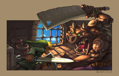 The Legend of Link by FabianMonk