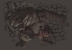Hulk SMASH by FabianMonk