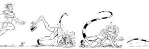 Commission - Basilisk Runner by comicTF