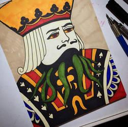 King of...Cthulu? by amonkeyonacid