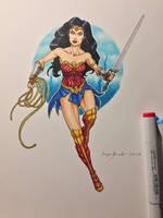 Wonder Woman commission by amonkeyonacid