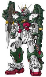 Launcher Burst Strike Gundam by RedZaku