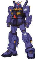 RX-178-X0 Prototype Gundam Mk II by RedZaku