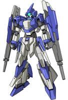 Gundam Age ver. Gaplant by RedZaku