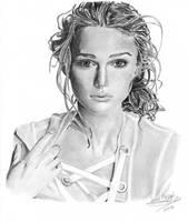 Keira Knightley by o0Lillo0o