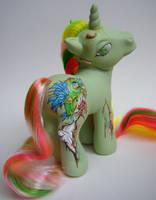 My little Pony Zombie Mimic by eponyart