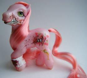 My Little Pony Zombie CJ by eponyart
