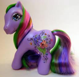 MY Little Pony Violette Pony by eponyart