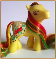 My little Pony G3 Chilli Pepper by eponyart