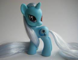 My Little Pony FiM G4 Zombie Trixie by eponyart