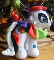 Custom My Little Pony Plush Voodoo Hoodoo by eponyart