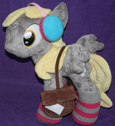 Custom My Little Pony Winter Plush Derpy Hooves by eponyart