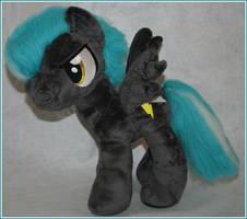 Custom FIM my little pony plush Thunderlane by eponyart