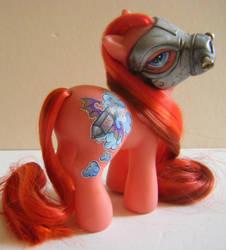 Ponies of the Apocalypse ~ War (version 2) by eponyart