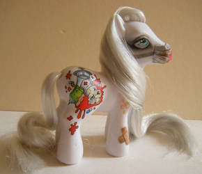 Ponies of the Apocalypse ~ Pestilence (version 2) by eponyart
