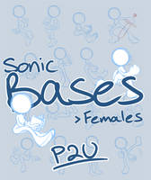 Sonic bases: Females .:P2U:. by TaniSCRAPS
