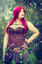 Steampunk Poison Ivy - DC Comics by CatleenCosplay