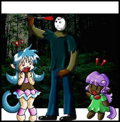 Jason meets anime by Anime-Horrorclub